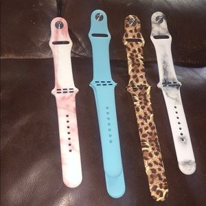 Accessories - Bundle of 4 Apple Watch bands for 38